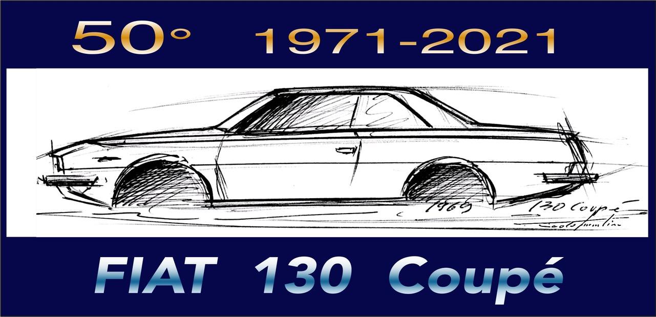 50° FIAT 130 Coupé a Casa Martini